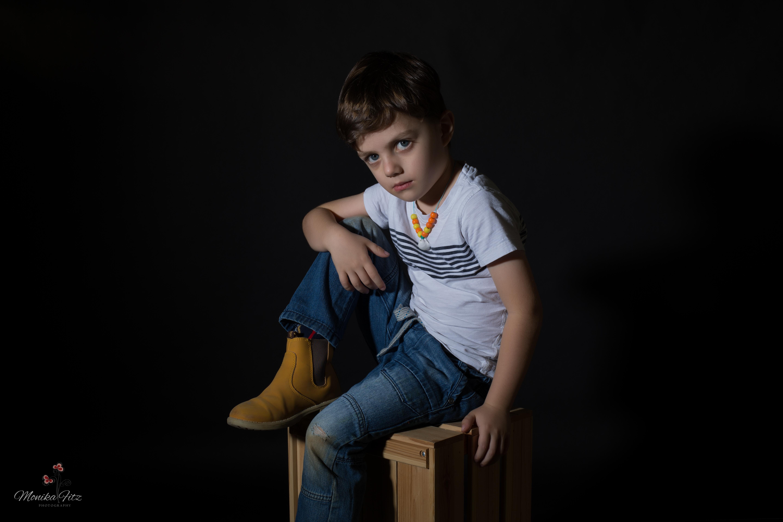 צילום ילדים בסטודיו