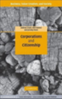 Cover of Corporations and Citizenship by Crane, Matten and Moon