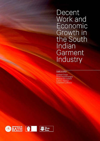 Cover of Decent Work and Economic Growth by Crane, Soundararajan, Bloomfield, Spence, and LeBaron