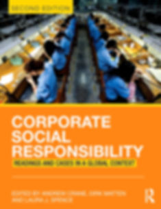 Cover of Corporate Social Responsibility, Second Edition by Crane, Matten and Spence