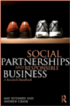 Cover of Social Partnerships and Responsible Business by Seitanidi and Crane