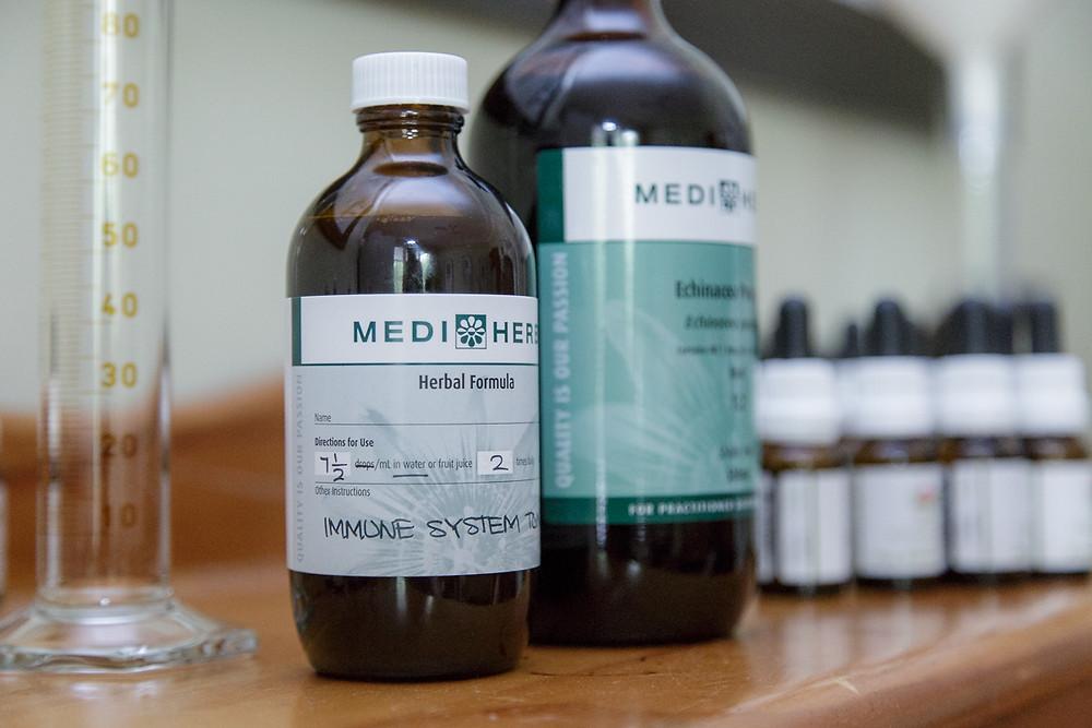 Herbal medicine for immune health