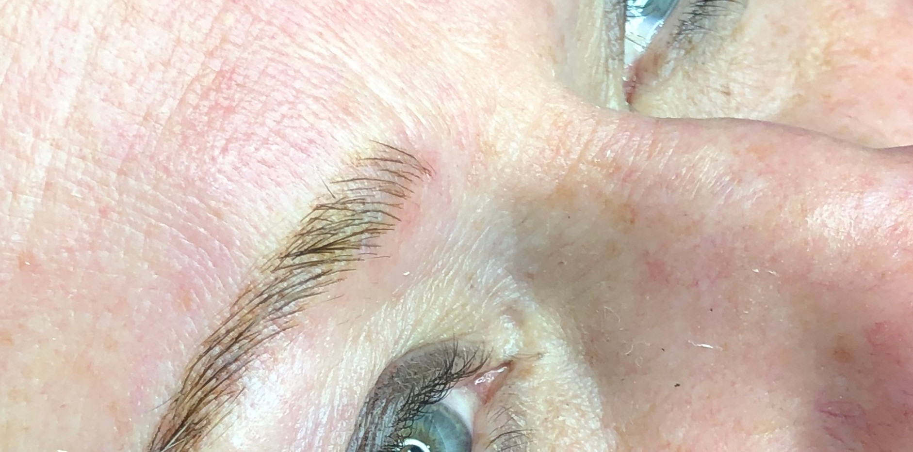 Microblading first session