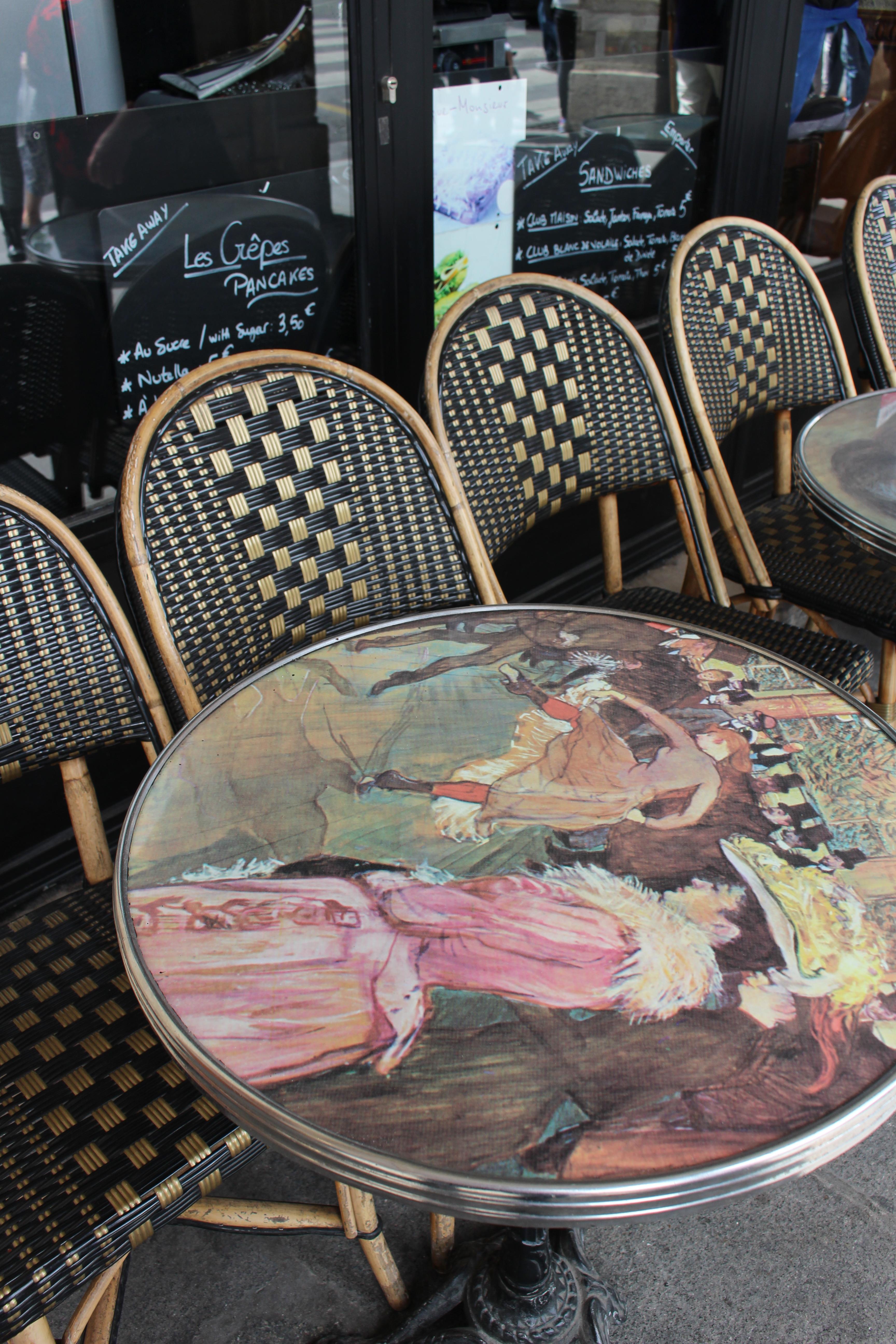 Cafe somewhere in Paris