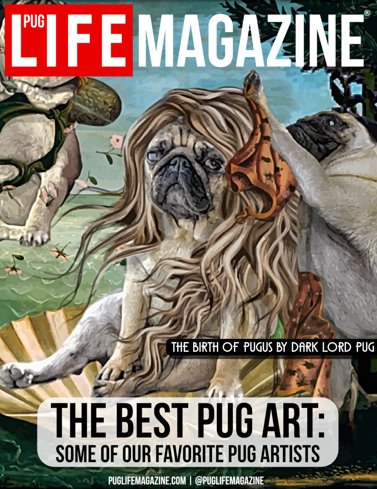 The Best Pug Art: Some of Our Favorite Pug Dog Artists