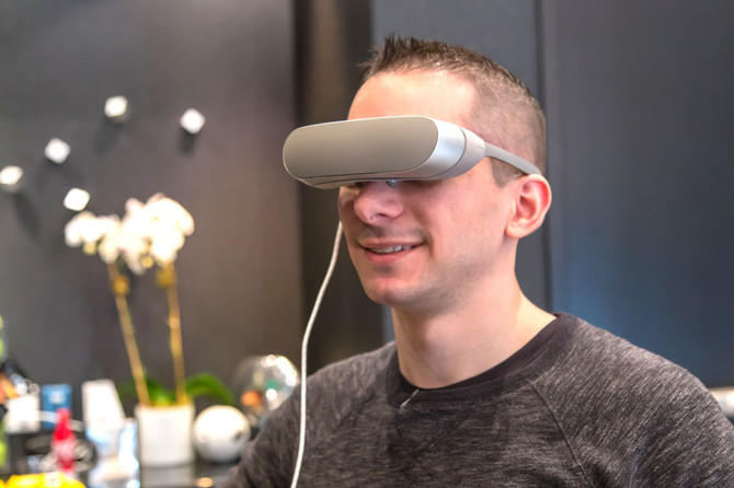 LG's New VR Headset