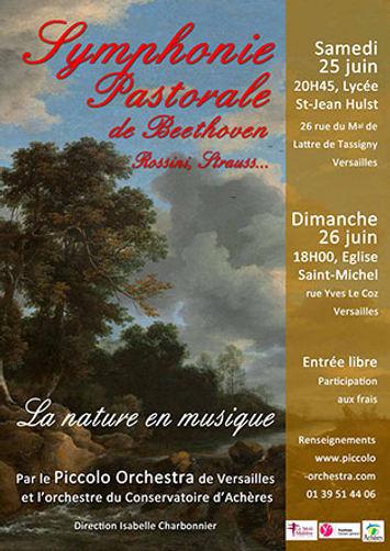 2015-2016 - Piccolo orchestra - La nature - Orchestre symphonique Versailles & Achères - Yvelines - Ile-de-france