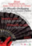 2011-2012 - Piccolo Orchestra - Orchestre symphonique - Carmen - Versailles & Achères - Yvelines - Ile-de-France