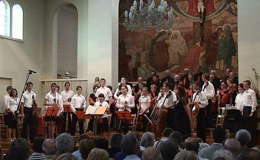 2006-2007 - Piccolo Orchestra - Les débuts - Versailles - Eglise Saint-Michel