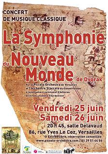 2009-2010 - Piccolo Orchestra - Orchestre symphonique - Nouveau Monde - Versailles & Achères - Yvelines - Ile-de-France
