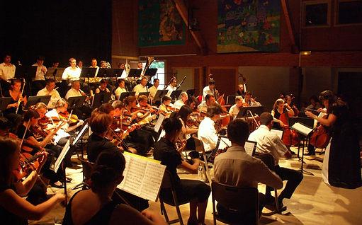 2009-2010 - Piccolo Orchestra - Orchestre symphonique - Nouveau Monde - Versailles - Maison de quartier de Porchefontaine - Yvelines - Ile-de-France