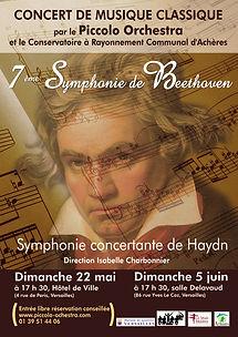 2010-2011 - Piccolo Orchestra - Orchestre symphonique - Beethoven - Versailles & Achères - Yvelines - Ile-de-France