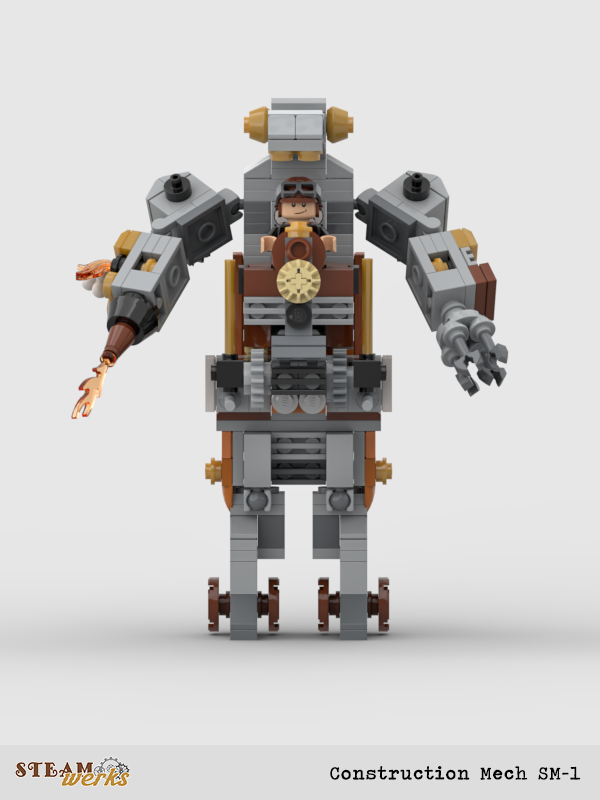 Construction Mech SM-II_Front
