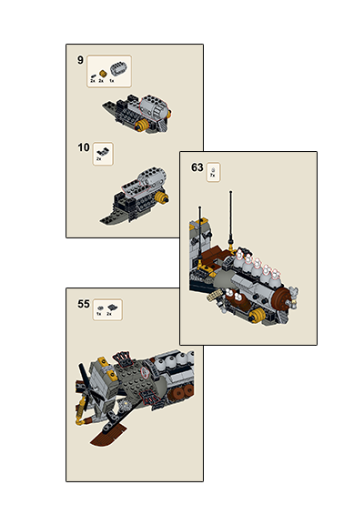Speeder Squad Leader Instructions