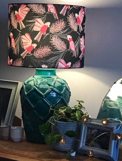 LightenUp Lampshade Jos Proust fabric