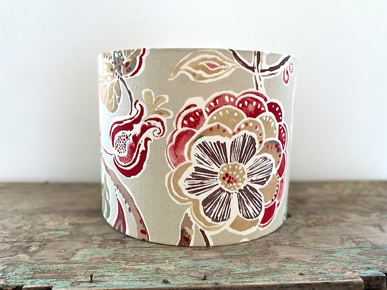 """""""Raspberry Floral"""" 35cm Lampshade"""