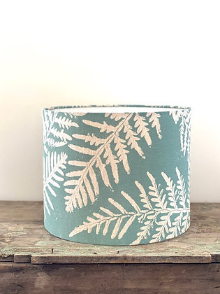 "Ink & Spindle ""Bracken Fern in Stream"" 35cm Lampshade"