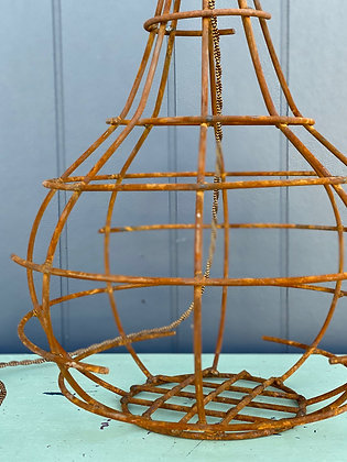 Hand-made Wire Lamp Base with Bakelite Fittings