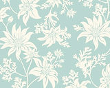 Ficifolia Flannel Flower Mint in Linen / Cotton