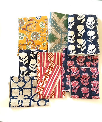 Anna Spiro & Nine Muses Collection Fabric Remnant Pack 528gm
