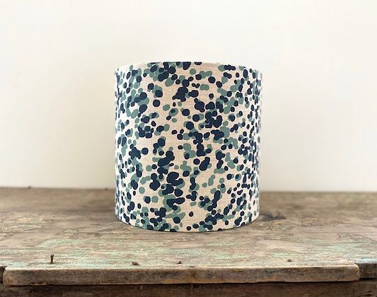 """Ink & Spindle """"Spotted Quoll in Bluestone and Stream"""" 25cm Lampshade"""