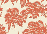 Ficifolia Red Earth in Linen / Cotton