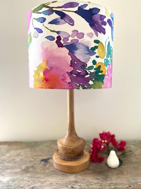 "Bluebellgray ""Majorelle Florist"" 35cm Lampshade"