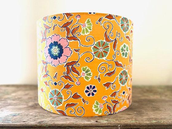 """Anna Spiro """"Leilani in Saffron""""  35cmD Lampshade"""