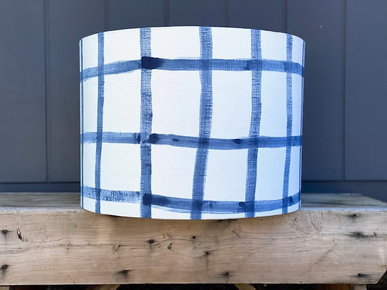 Bec Fing Designs & LightenUp HAND-PAINTED | HAND-MADE 35cm Lampshade