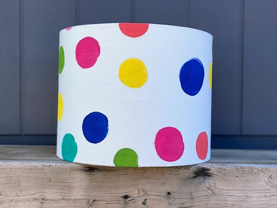 Bec Fing Designs & LightenUp HAND-PAINTED | HAND-MADE 30cm Lampshade