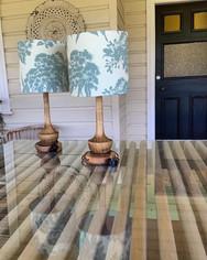 4 Leaf Clover Ficifolia Eucalyptus fabric