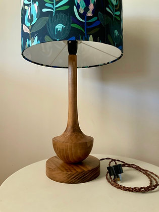 Waxed Timber Lamp Base (LGE)