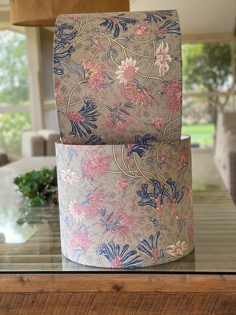 LightenUp Lampshade in Utopia Goods fabric