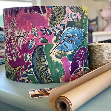 Jungle Watercolour Lampshade by LightenUp