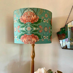 House of Heras Fabric Lampshade