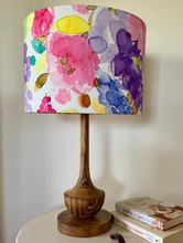 LightenUp Handmade lampshade and base