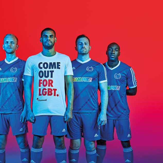 Stonewall - LGBT+ football