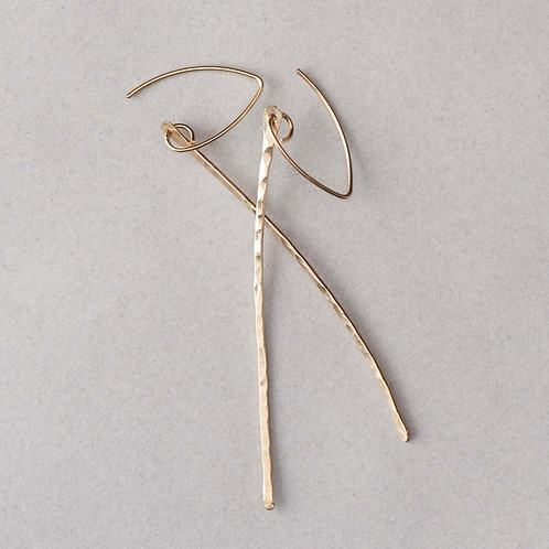 Birch Earrings | Gold Filled