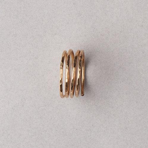 Spiral Ring | Gold Filled