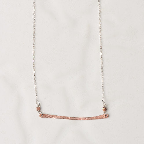 Horizon Necklace | Copper