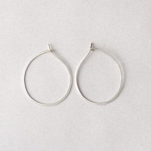 Meridian Earrings   Sterling Silver