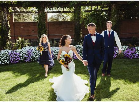 Garrison Wedding / Indianapolis Zoo / Indianapolis Wedding Photographer