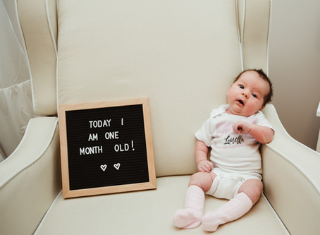 Louella One Month