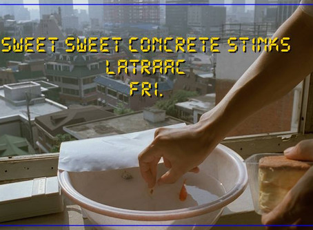 Sweet, sweet concrete stinks at Latraac