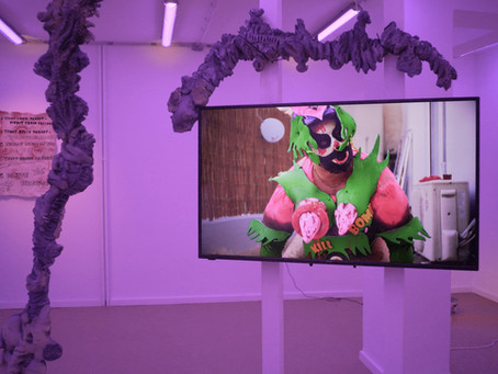 Exhibition Review: 'Chloroquine Juggalo' by Kostis Stafylakis at KEIV