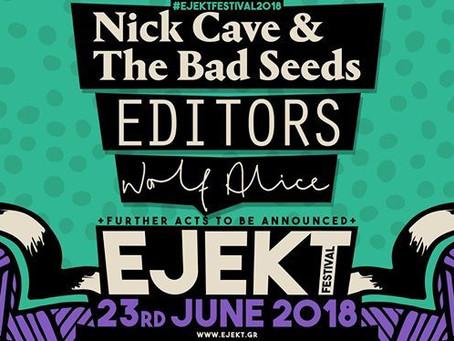 Ejekt Festival 2018 // Nick Cave & The Bad Seeds // Editors +