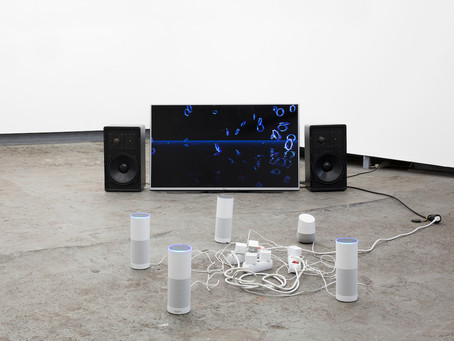 Curated by Katerina Gkoutziouli & Voltnoi Brege :  Imagine you wake up and there is no Internet