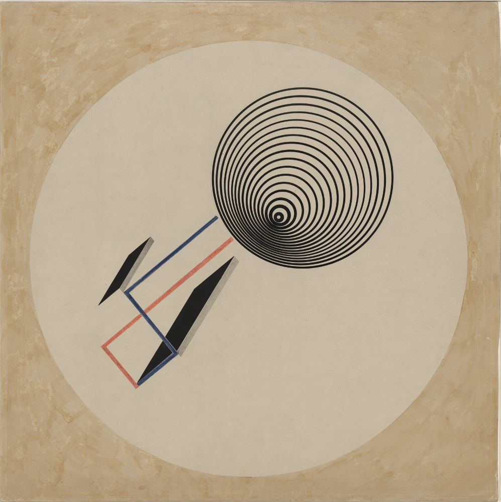ferocious urbanites_El Lissitzky – PROUN 93 (1923)
