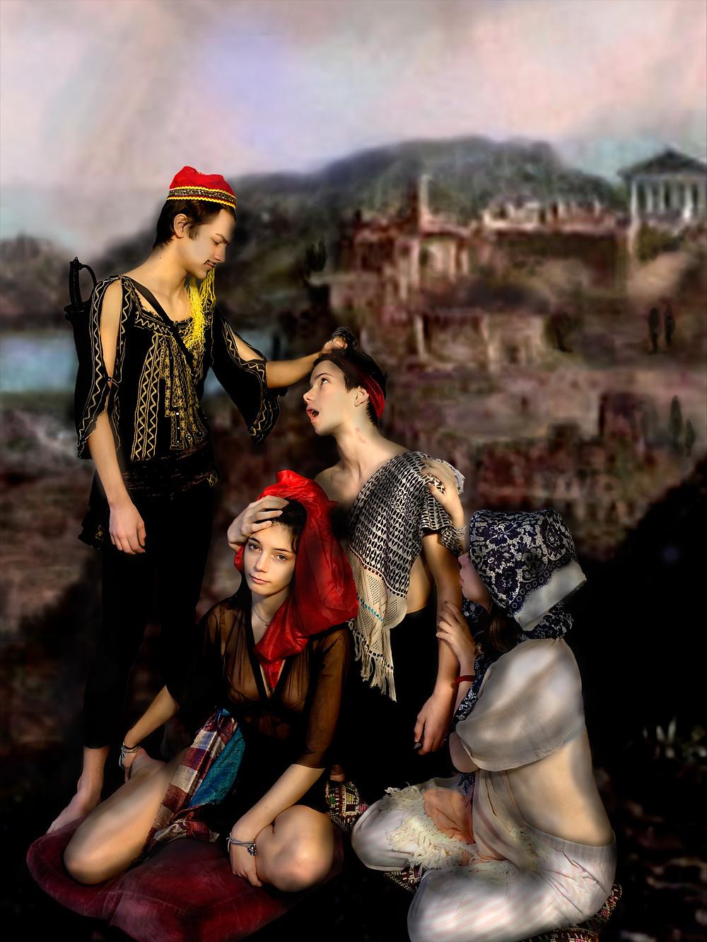 Lydia Venieri Art Athens Ferocios Urbanites