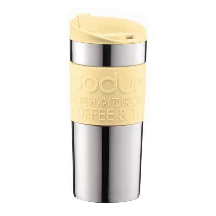 Termosinis puodelis TRAVEL, plienas, 0,35l